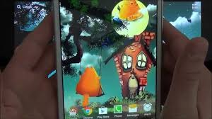 live halloween wallpaper cute halloween live wallpaper for android phones and tablets youtube