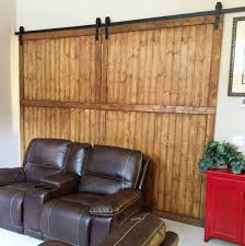 how to build sliding barn doors on a budget