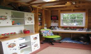 Shed Interior Ideas by Backyard Storage Shed Kits Livable Shed Interiors She Shed