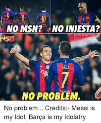 Barca Memes - sua ymarr mess atar unicef no msn no iniesta messi is my idol