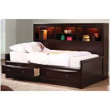 twin bed with bookcase headboard and storage stunning idea twin bed frame with headboard frames bookcase