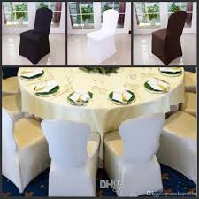 White Chair Covers Wholesale Wholesale Black White Chair Covers Spandex For Wedding Banquet