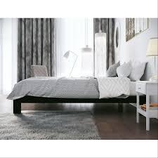 Modern Low Bed by Homepacific Modern Heavy Duty Low Profile Black Metal Platform Bed