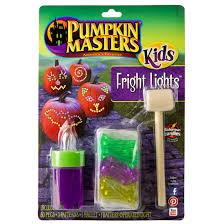 pumpkin masters fright lights carving kit halloween craft kits