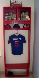 best 20 boys bedroom storage ideas on pinterest playroom boy s bedroom baseball locker instead of single hook use the bat with baseball letters and add hooks