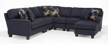 best home furnishings annabel five piece customizable sectional