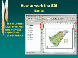 layout view zoom how to work the gis basics information access information