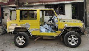 dilip chhabria modified jeep force gurkha g wagen makeover team bhp