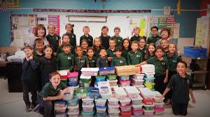 las cruces students donate more than 100 boxes to operation