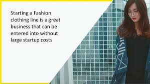 clothing fashion design business plan template