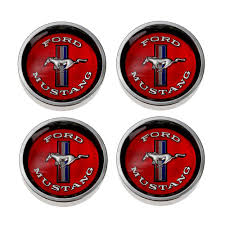 mustang center caps mustang wheel center cap styled steel set 1965