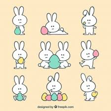 easter bunny bunny vectors photos and psd files free