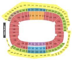 map us bank stadium us bank stadium minneapolis tickets schedule seating chart us