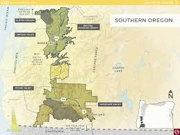 map of oregon i 5 southern oregon oregon wine resource studio