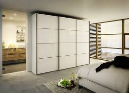 Japanese Style Apartment Bedroom Reliabilt White Panel Sliding Door And Wall Mount Iron