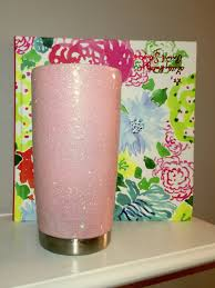 Gifts For New Moms by Pale Pink Glitter Yeti Tumbler 20 Oz Gift For Her Gift For New