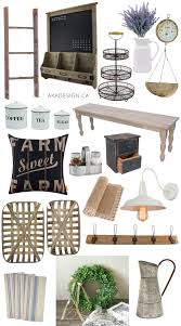 farmhouse decorating finds from amazon