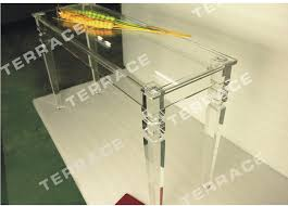 Lucite Console Table Aliexpress Com Buy Rectangular Lucite Console Table With Square