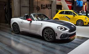 blue girly cars 2017 abarth 124 spider official photos and info u2013 news u2013 car and