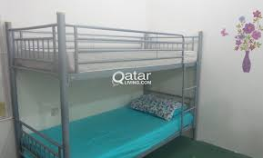 double deck bed metal frame qatar living