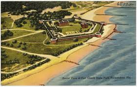 Map Of Florida State Parks by Aerial View Of Fort Clinch State Park Fernandina Florida