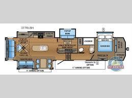 2017 keystone alpine 3661fl model fifth wheel camper floor plans