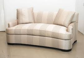 Contemporary Curved Sectional Sofa by Lovely Creamy Curved Couches Design With Small Round Coffee Table