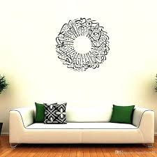 wall ideas wall art decals for bathroom wall art decals wall art wall art decals hobby lobby islamic muslin wall decal arabic quran bismillah calligraphy wall poster home decoration wall mural living room background wall