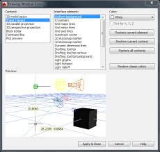 how to change the paper background of a layout in autocad