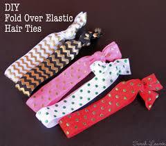 elastic hair ties diy fold elastic hair ties headbands be a