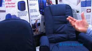 Seat Cushions Stadium West Marine Go Anywhere Seats By Taylor Made Youtube