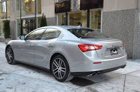 maserati ghibli grey black rims 2017 maserati ghibli sq4 s q4 stock m548 s for sale near chicago