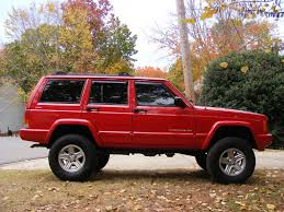 red jeep cherokee jeep xj classic chili pepper red jeep cherokee xj pinterest