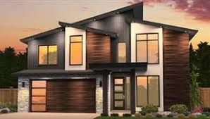 modern home floorplans modern house plans small contemporary style home blueprints