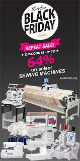 black friday sewing machine newsletters archives let u0027s sew