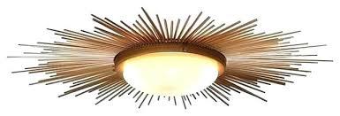 mid century flush mount lighting light mid century ceiling light