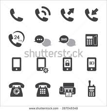phone icon cell phone icon set stock images royalty free images vectors