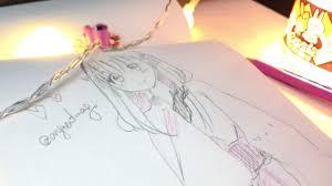 speed drawing manga youtube