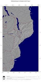 Mozambique Map Map Mozambique Ginkgomaps Continent Africa Region Mozambique
