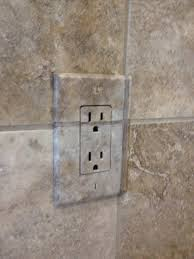 Travertine Tile Ideas Bathrooms Colors Disappearing Outlet Covers By Jen Brooks Meant To Match Custom