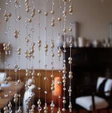 crystal and pearl beaded curtains my ideas pinterest bead