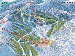 Colorado Ski Resorts Map Trail Map Whitefish Mountain Resort