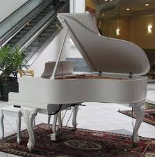 a m mcphail french country style baby grand player piano