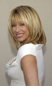 suzanne somers hair cut suzanne sommers is honored with a star on the hollywood walk of