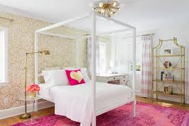 Pink And White Bedrooms - pink and gold kids bedroom design ideas