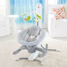 Fisher Price High Chair Swing Fisher Price 4 In 1 Smart Connect Cradle U0027n Swing Techno Gray