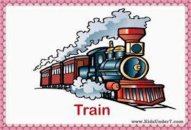 kids under 7 transportation flashcards