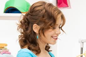 easy cute hairstyles for medium curly hair hairstyles
