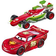 Lightning Mcqueen Rug Carrera Disney Cars Racing System Lightning Mcqueen Vs Francesco