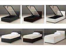 White Ottoman Bed by Ottoman Beds Beds U0026 Mattresses Ebay